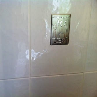Bathroom Grout Refresh After