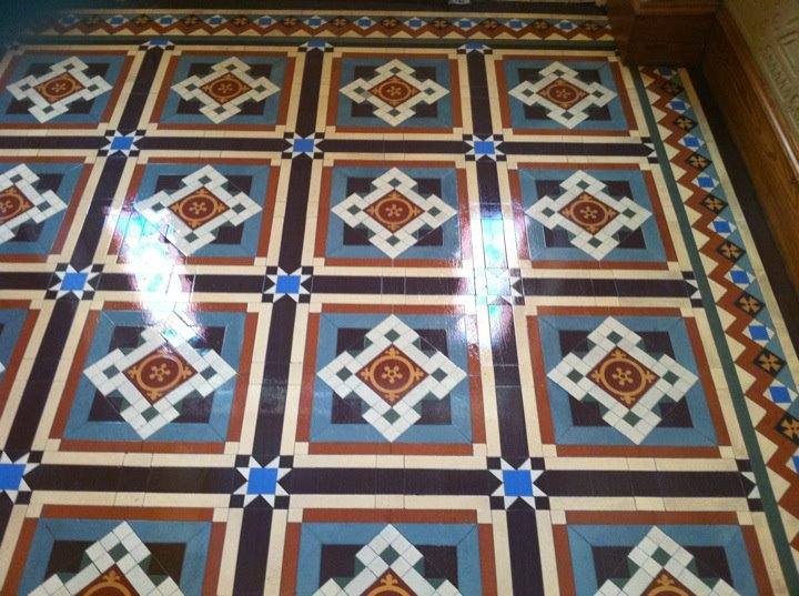 Victorian Tiles in Perth After Cleaning and Sealing